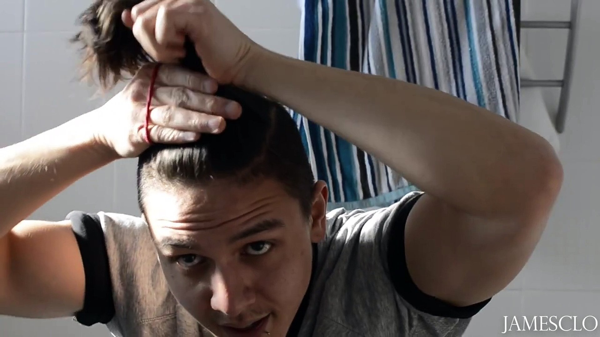 How I Cut & Style My Hair |TOP KNOT, MAN BUN, KET CUT TUTORIAL/HOW TO|