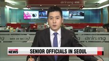 Senior Chinese, U.S. officials in Seoul for discussions on regional affairs