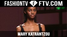 Mary Katrantzou Fall/Winter 2015 Show | London Fashion Week LFW | FashionTV