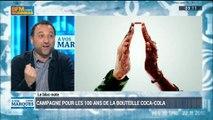 Coca-Cola fête les 100 ans de sa bouteille: Valéry Pothain et Frank Tapiro(1/3) - 15/03