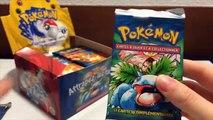 SUPERBE DISPLAY - Ouverture Pokémon -  Display & 6 Boosters Set de Base Français en édition 1 !