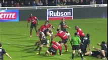 TOP14 - La Rochelle - Oyonnax: Essai Levani Botia (LAR) - J20 - Saison 2014/2015
