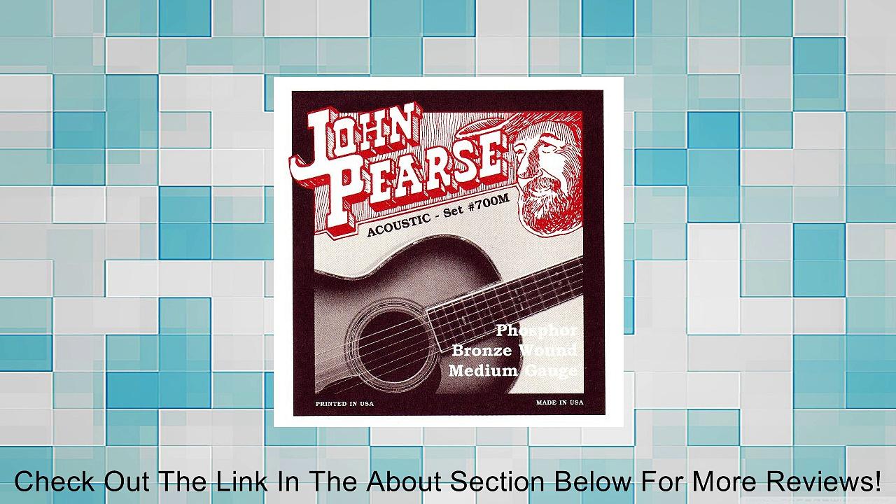 John Pearse 700M Phosphor Bronze Acoustic Guitar Strings Review
