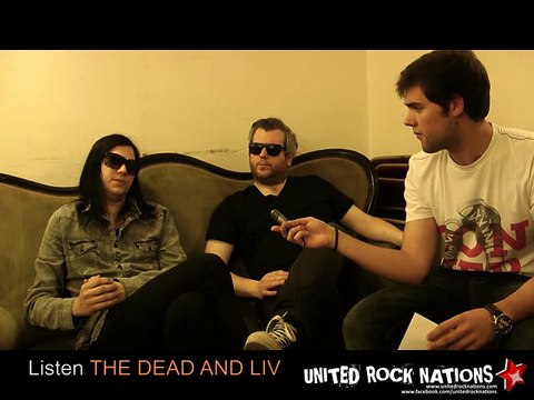 The Dead And Living Interview / 31 october 2014 / Paris