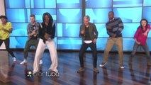 """First Lady Michelle Obama And Ellen DeGeneres Have An """"Uptown Funk"""" Dance Party / Première Dame Michelle Obama et Ellen DeGeneres ont un « Uptown Funk """" Dance Party"""