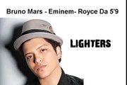 Bad Meets Evil Lighters (Feat. Bruno Mars) FULL SONG-LYRICS ON SCREEN