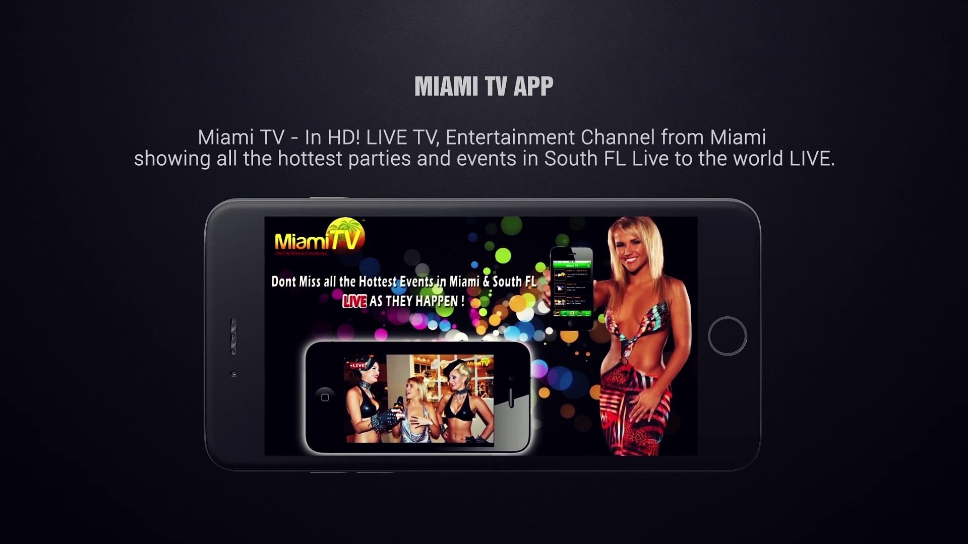 Miami TV Free App - Download for Live shows