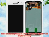White for Samsung Galaxy S5 Touch Screen Glass Digitizer   LCD Display Assembly