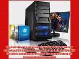 Komplett-PC Gaming-PC Hexa-Core AMD FX-6300 6x3.5GHz (Turbo bis 4.1GHz) 22 LED Bildschirm Gaming