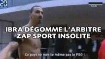 Ibra dégomme l'arbitre , le kung-fu de Benzema... ZAP Sport insolite