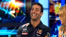 Kylie Minogue  and daniel Ricciardo interview 03.2015