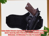 Fobus  Ankle Holster SP11BA Springfield Armory XD / HS 2000 9/357/40 5 4 / Sig 2022 P250 /