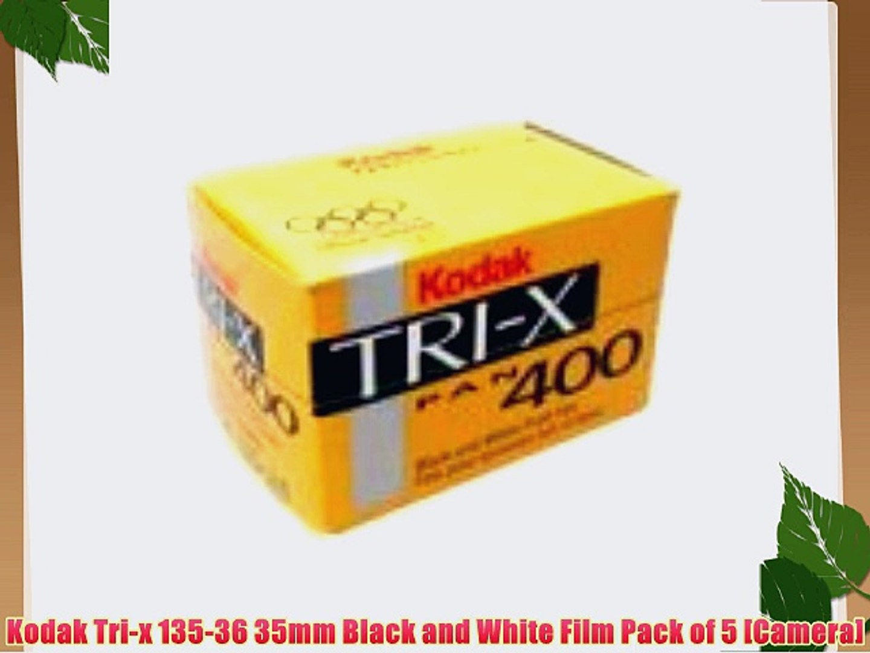 Kodak Tri-X 400TX Professional ISO 400 Black and White Film Pack of 5 36mm