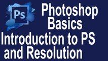 Photoshop tutorial for beginners # 1 | Introduction to Photoshop and Learning about Resolution