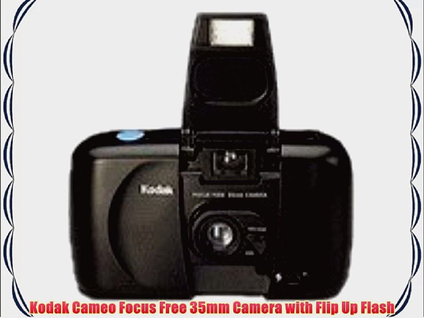 Kodak Cameo Focus Free 35mm Camera with Flip Up Flash