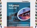 Inkpress Inkjet Matte 60 Photo Paper 8x10 50 Sheets