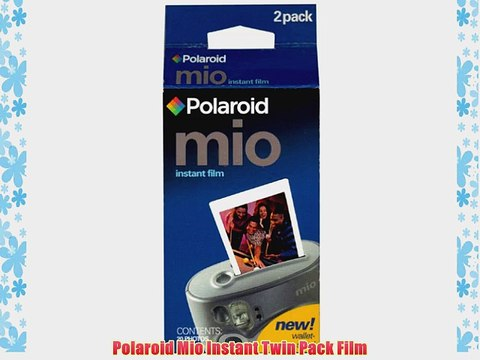 Polaroid Mio Instant Twin Pack Film - video dailymotion