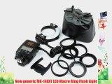 BestDealUSA Meike MK-14EXT LED Macro Ring Flash Light For Canon 5D III 7D 550D Nikon Pentax