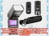Neewer *COLOR-SCREEN* i-TTL Camera Flash Kit for Nikon D3S D50 D60 D70 D70S D80 D80S D200 D300