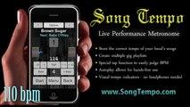300 BPM Metronome - 10 Minutes Click Track - www SongTempo com