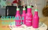 DIY: Customiza tus botellas | María G. Lomas
