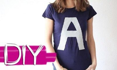 DIY- Customiza tus camisetas I B A LA MODA