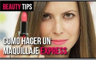 Cómo hacer un maquillaje express   BEAUTY PLANET
