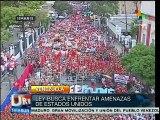 Venezolanos se unen contra EE.UU. y apoyan la Ley Antiimperialista