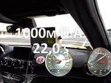 1000 m départ arrêté en Mercedes AMG GT-S