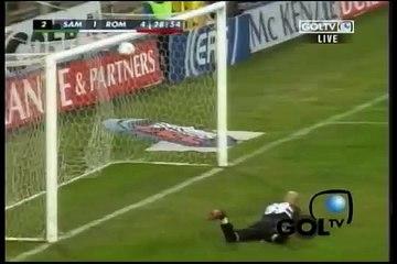 Sampdoria vs Roma - Totti Goal (2006)