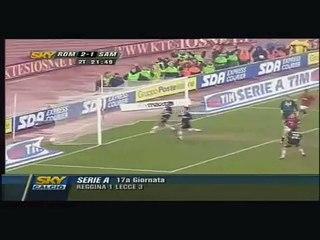 Francesco Totti Goal - Sampdoria Roma