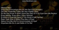 Sean Paul Ft. Beenie Man - Greatest Gallis (Lyric)