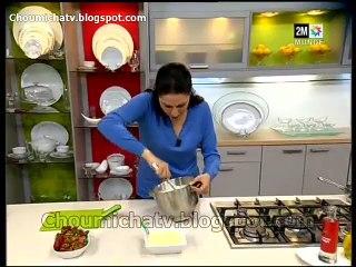 Choumicha - Gâteau de Choumicha en vidéo Fraisier