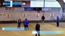 Second tour, tir de précision 1, Romans contre Mâcon, Club Elite 2 J10, Sport Boules, saison 2014 / 2015