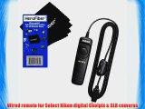 Nikon Remote Release Cord (1 meter) for D4S D90 D600 D610 D3100 D3200 D3300 D5000 D5100 D5200
