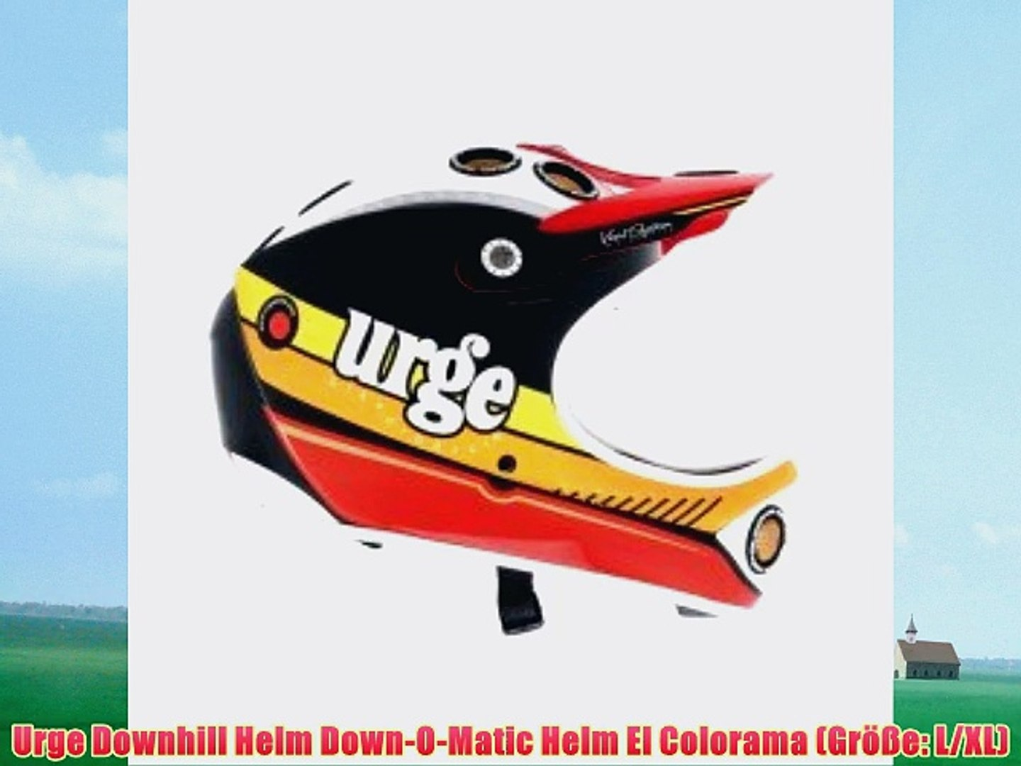 Urge Downhill Helm Down-O-Matic Helm El Colorama (Gr??e: L/XL)