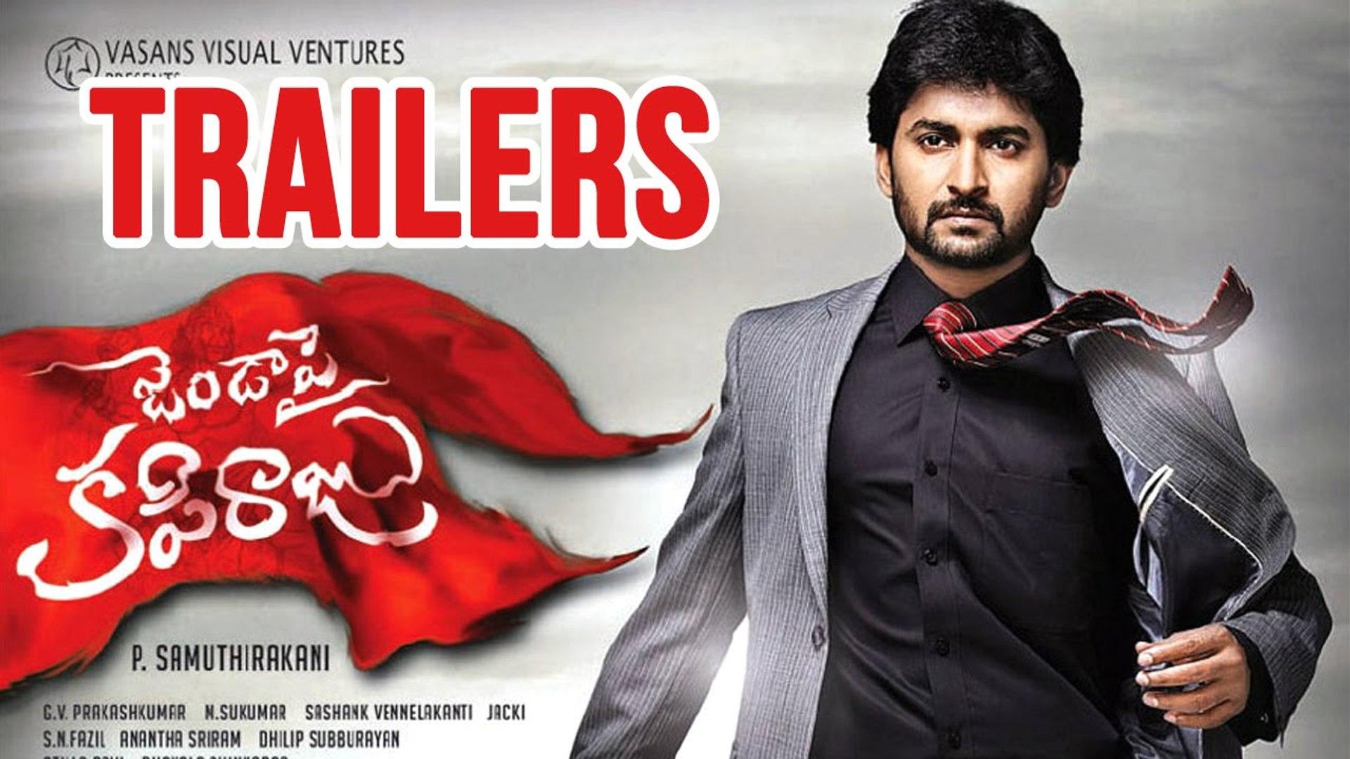 Janda Pai Kapiraju Back To Back Trailer Teaser Comedy Songs Telugu Movies Video Dailymotion