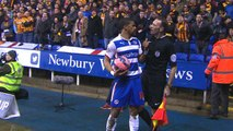 Reading's Garath McCleary racially shouted at by Bradford supporter