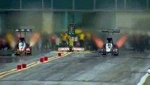 Accident de Dragster spectaculaire, le pilote Larry Dixon en sort miraculeusement indemne!