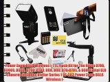 Power Zoom DSLR Wireless i-TTL Flash Kit for The Nikon D700 D300S D300 D200 D100 D90 D80 D70