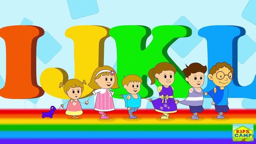 ABC alphabet song - KidsCamp Nursery Rhymes