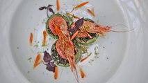 Sosh aime Les Inrocks Lab - Risotto Noir, Bouquets Bretons et Cheddar - Chef Bérangère Boucher