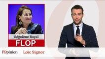 Le Top Flop: Bernard Kouchner répond à John Kerry / Ségolène Royal voulait faire jouer Roland-Garros au Parc des Princes