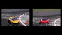 McLaren P1 and Ferrari laFerrari, Top Gear Test Track, Replay, Assetto Corsa