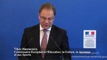 [ARCHIVE] Mobilisation européenne pour l'éducation aux valeurs citoyennes : Intervention de Tibor Navracsics