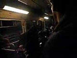 Métro parisien: Problème d'avarie sur la ligne 11 avec Evelyn Fran-adjéa à bord