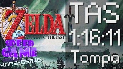 Speed Game Hors-série:TAS Zelda 3 ALTTP 1:16:11 par Tompa