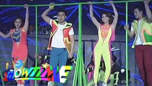 "Yassi, Meg, Jerome and Young JV's performs on ""It's Showtime"""