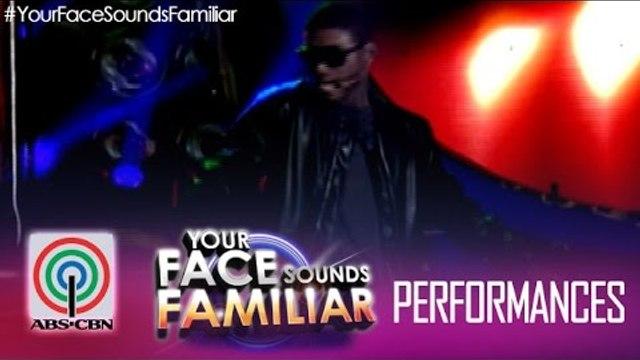 """Your Face Sounds Familiar: Edgar Allan Guzman as Usher - """"DJ Got Us Fallin' in Love"""""""