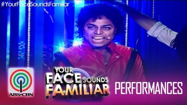 "Your Face Sounds Familiar: Nyoy Volante as Michael Jackson - ""Thriller"""